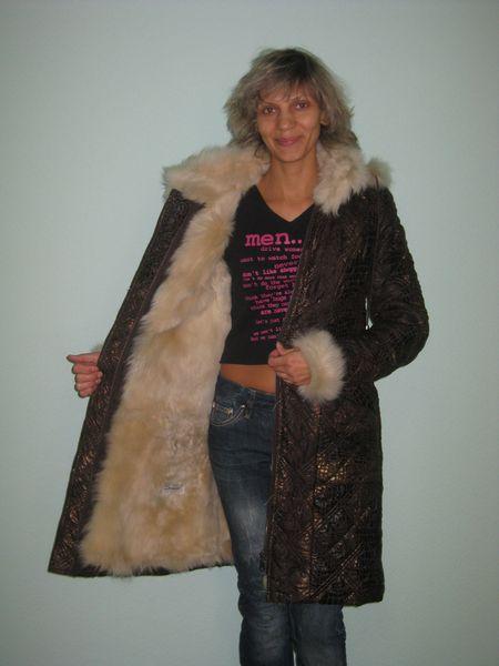 Пальто на меховой подкладке сшить